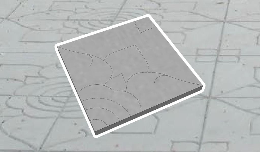 ศิลาเหลี่ยม-ลายไทย